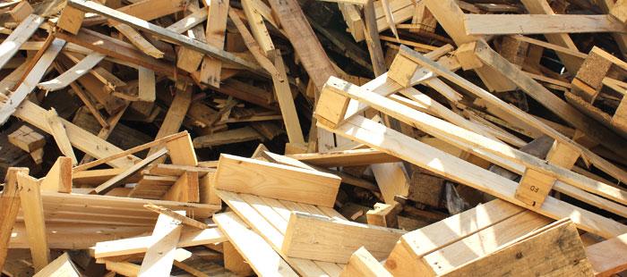 Ritiro e smaltimento legno